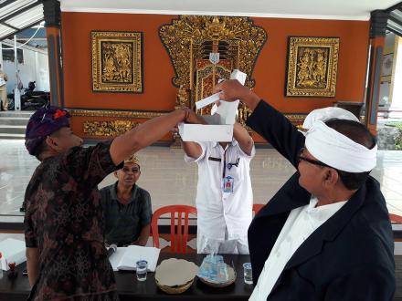 Rapat Pengundian Nomor Urut Calon Kelian Desa Pakraman Umeanyar