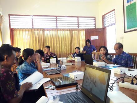 Sosialisasi Penggunaan Aplikasi SIKS-NG Bagi Operator Desa