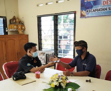 Kunjungan Dari Dinas Kominfo Sandi Kabupaten Buleleng