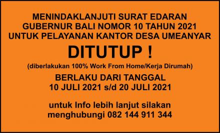 Ditutup!!
